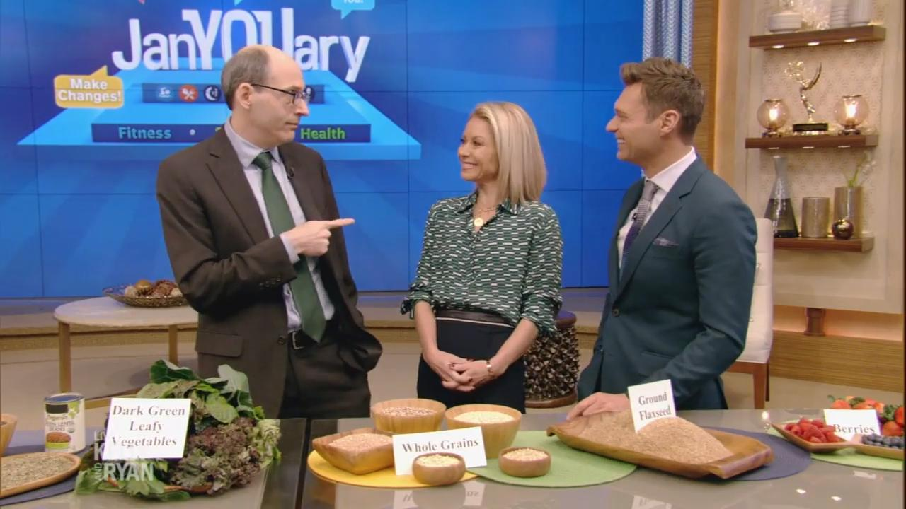 Dr. Michael Greger presents 'How Not to Die' on Live with Kelly and Ryan